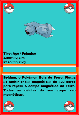 beldum-pokedex