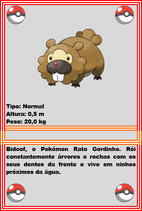 bidoof_pokedex